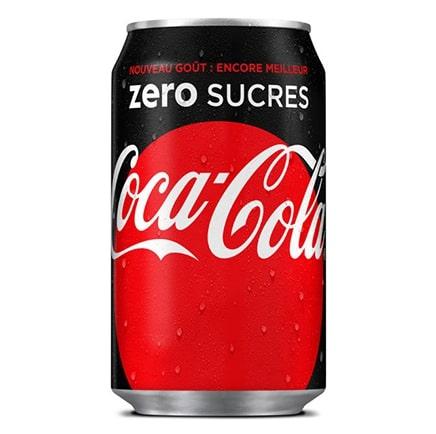 Coca-Cola zero sucres - Le Boulanger Parisien