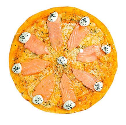 PIZZA AU SAUMON - Le Boulanger parisien