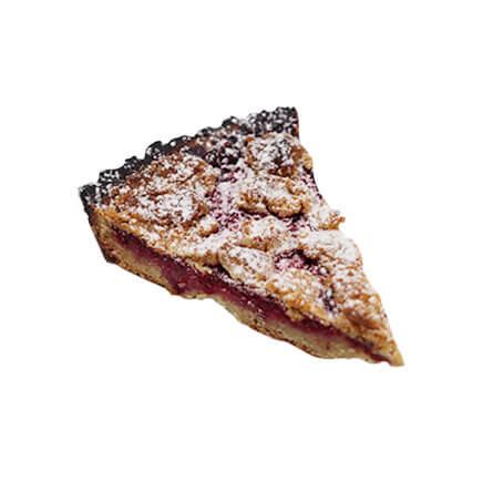 crumble fruits rouges - Le Boulanger Parisien