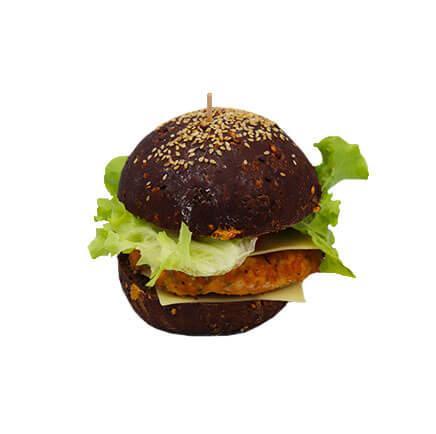 Burger au poulet - Le Boulanger Parisien