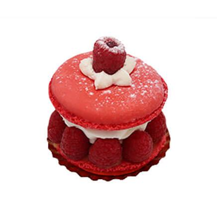 Macaron à la framboise - Le Boulanger Parisien