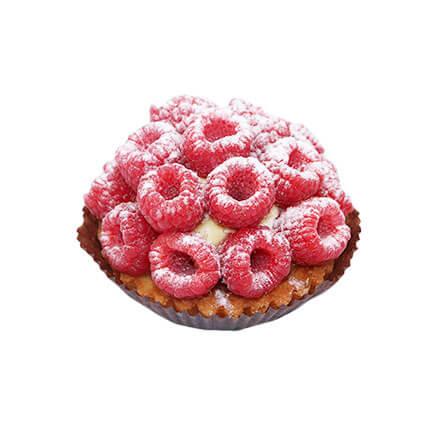 tartelette aux framboises - Le Boulanger Parisien