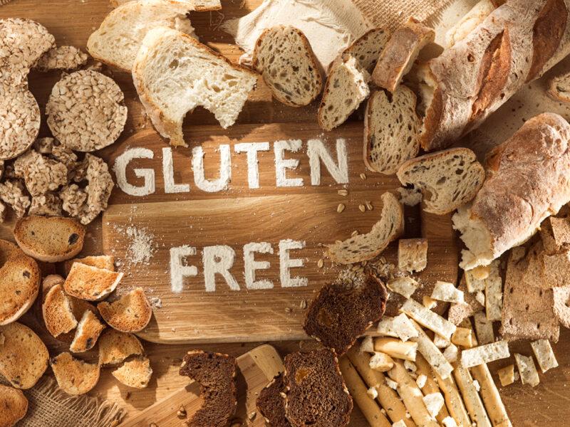 Des produits boulangers sans gluten