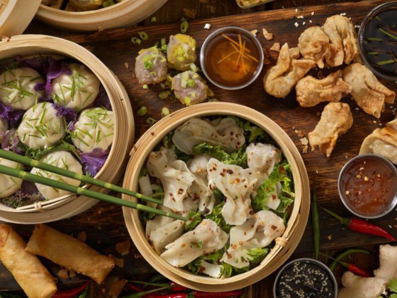 des plats de cuisine chinoise